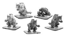 Carnitrons and Robo Brontox  Monsterpocalypse Uber Corp International Unit (metal/resin)